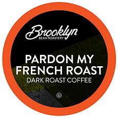 Brooklyn Beans Pardon My French Roast Coffee Pods for 2.0 Keurig 40-pk