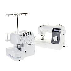 Brother Strong and Tough Sewing Machine and Serger Bundle