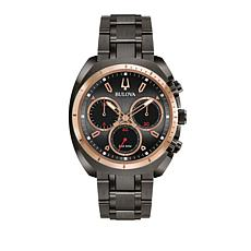 Bulova Men's CURV Chronograph 2-Tone Watch