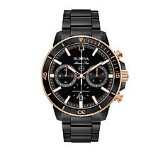Bulova Men's Marine Star Black Dial Watch