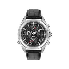 Bulova Men's Precisionist Leather Chronograph Watch