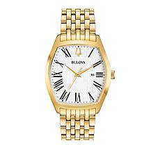Bulova Women's Classic Tonneau Case Goldtone Bracelet Watch