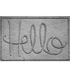 Bungalow Aqua Shield Hello Doormat