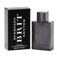 Burberry Brit Rhythm Men's Eau De Toilette Spray 1.7 oz.