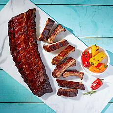 Burnt Finger BBQ 4 1.75lb. Packs of Baby Back Ribs in Sauce Auto-Ship®