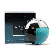 Bvlgari Aqua Pour Homme Eau De Toilette Spray - 3.4 oz.