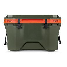 Camco Cooler Currituck, 30-Quart - Olive / Orange