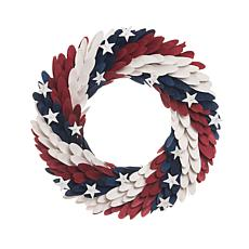 C&F Home Americana Wreath