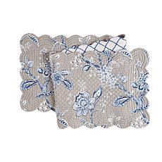 C&F Home Annabelle Blue Table Runner