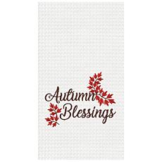 C&F Home Autumn Blessings Towel Set of 2