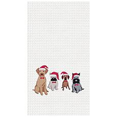 C&F Home Dog Santa Hats
