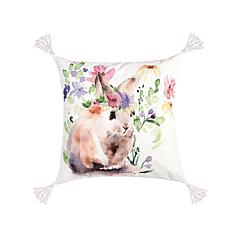 C&F Home Flowers Bunny II Pillow