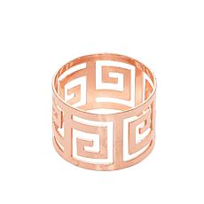 C&F Home Greek Key Napkin Ring Set of 4