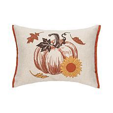 C&F Home Harvest Time Pumpkin Pillow
