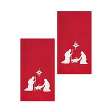 C&F Home Holy Adoration Canvas Kitchen Towel Set of 2