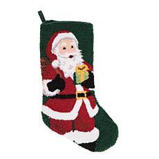 C&F Home Jolly St. Nick Stocking