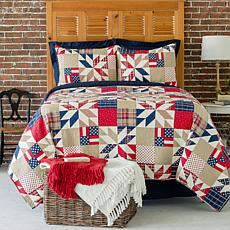 C&F Home Levi Full/Queen Quilt Set