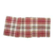 C&F Home Samuel Plaid Table Runner