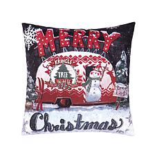 C&F Home Tree Lot Christmas Pillow