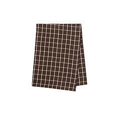 C&F Home Windowpane Cocoa Towel S-3
