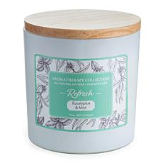 Candle Warmers Refresh Aromatherapy 15 oz. Soy Wax Candle