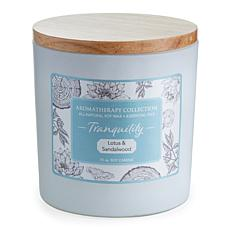 Candle Warmers Tranquility Aromatherapy 15 oz. Soy Wax Candle