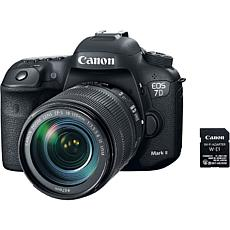 Canon  EOS 7D Mark II DSLR Camera w/18-135mm  Lens & Wi-Fi Adapter