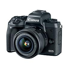 Canon EOS M5 24.2MP Digital Camera Kit with EF-M 15-45mm IS STM Lens