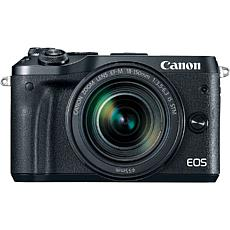 Canon EOS M6 Mirrorless Black Digital Camera with 18-150mm Lens