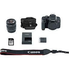 Canon EOS Rebel T7i Camera Kit w/18-55 IS STM Lens, Bag & Memory Card