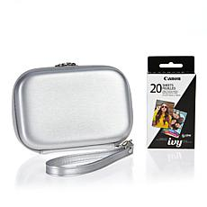 Canon IVY CLIQ+ Carrying Case with ZINK Photo Paper 20-pack