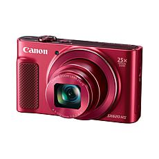 Canon PowerShot 20.2MP Full HD 25X Zoom Camera Bundle