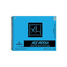 "Canson XL Mixed Media Wire Bound Pad 14"" x 17"" - 60 Sheets"