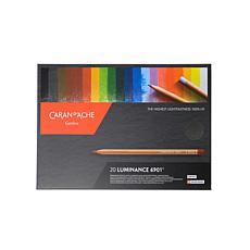 Caran d'Ache Luminance Colored Pencils Set of 20