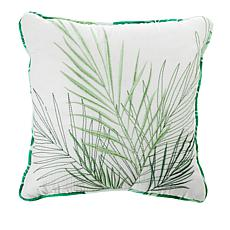 Carleton Varney Kapalua Bay Decorative Embroidered Pillow