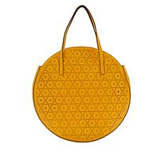 Carlos by Carlos Santana Laser-Cut Circle Bag