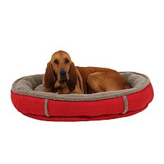 Carolina Pet Co. Faux Suede Comfy Cup Pet Bed - Large