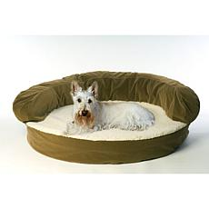 Carolina Pet Company Small Ortho Sleeper Bolster Bed