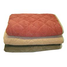 Carolina Pet Diamond Quilt Microfiber & Cloud Sherpa Th
