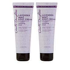 Carol's Daughter Lavender Mint Foot Cream Duo