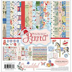 "Carta Bella Collection Kit 12"" x 12"" - Practically Perfect"