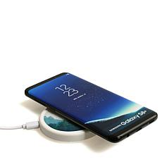 Caseable Fast-Charging Wireless Charger 2-pack with Customizable Skins