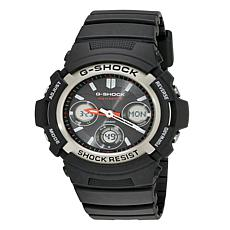 Casio Men's Solar Powered G-Shock AWGM100 Black Analog-Digital Watch