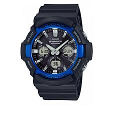 Casio Men's Solar Powered G-Shock GAS100B-1A Analog/Digital Watch