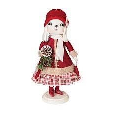 Catherine Snow Woman On Stand Figurine