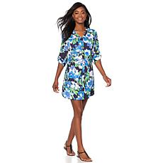 Caya Costa Button-Front Shirtdress with UV Protection