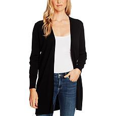 CeCe Solid Long Cardigan Sweater