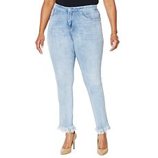 Cenia New York ConVi Jean with Fringed Hem
