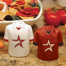 Ceramic Salt and Pepper Shakers - Houston Astros