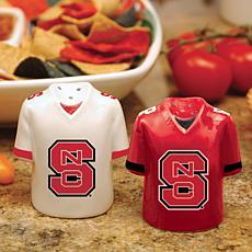Ceramic Salt and Pepper Shakers - North Carolina State